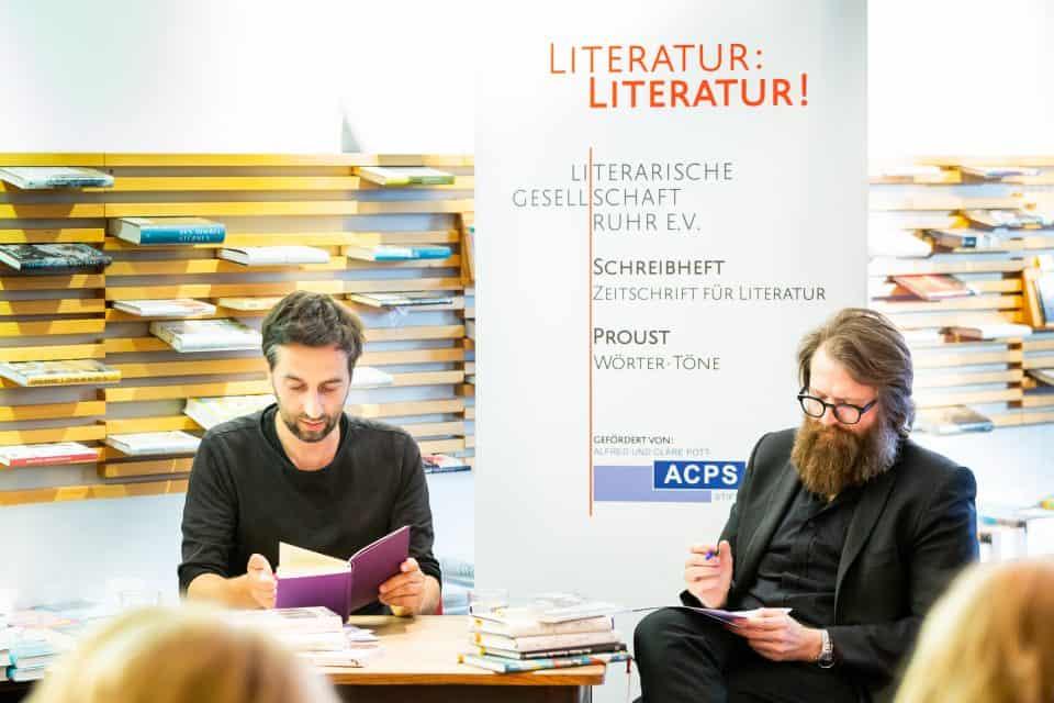 """KWI on Tour: Übersetzer Ron Winkler spricht in der Buchhandlung Proust über Lawrence Ferlinghetti's """"Little Boy"""""""