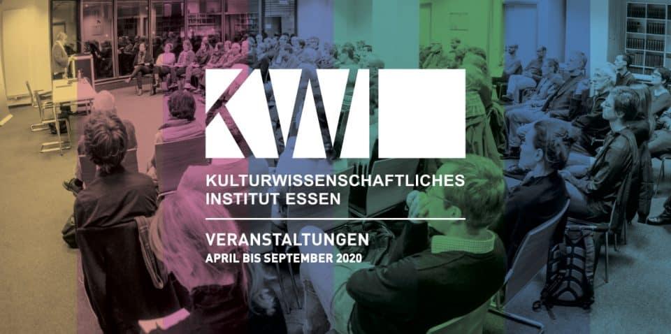 NEU: KWI Veranstaltungsprogramm April – September 2020