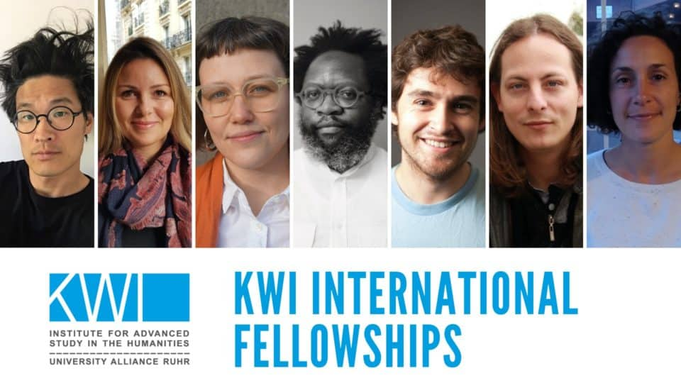 The KWI welcomes a new cohort of international fellows