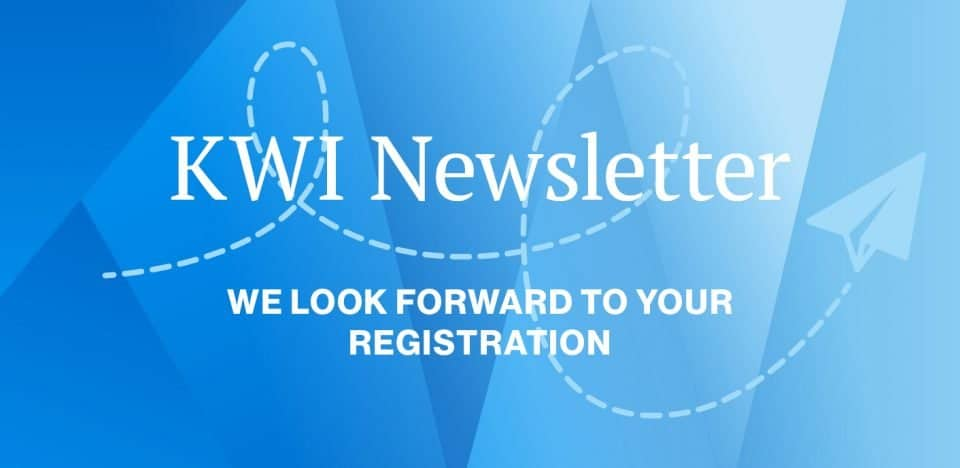 KWI launches Newsletter